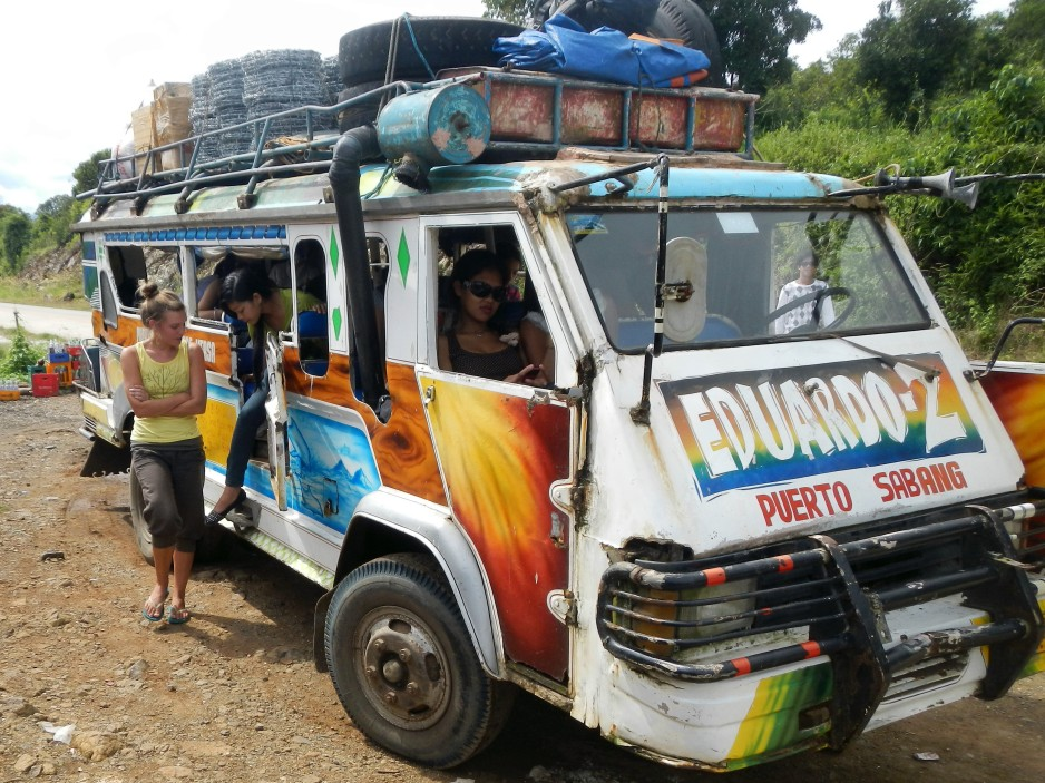 Jeepney in Palawan, Philippines