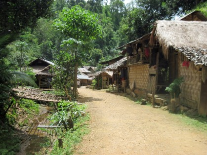 """Long neck village', Ban Nai Soi- Thailand"