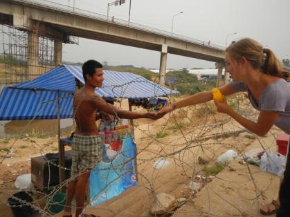 Burma border at Mae Sot, Thailand