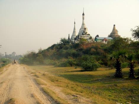 back roads Shwebo, Myanmar