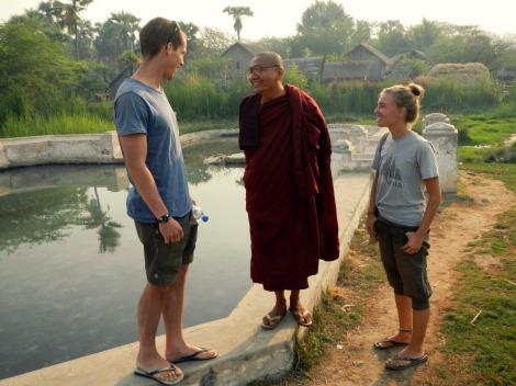 Buddhists don't say goodbye