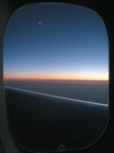 Sunrise over the Pacific