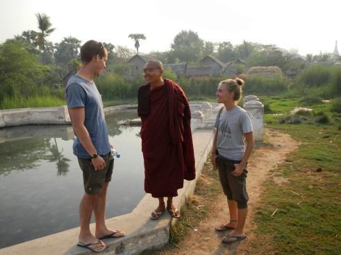 Hot springs outside of Shwebo, Burma