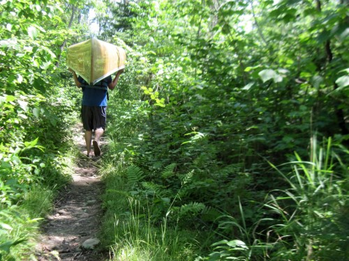 Portaging- Boundary Waters, MN