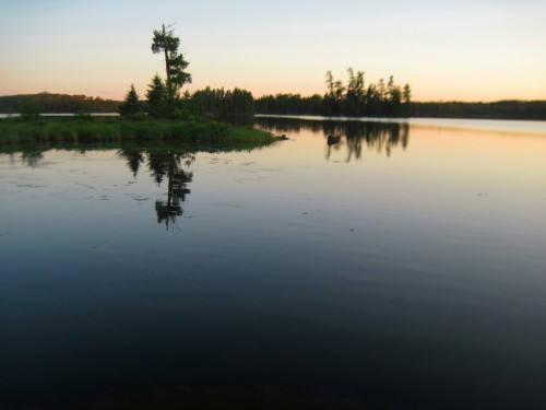 Sunset on Clear Lake, Boundary Waters, MN