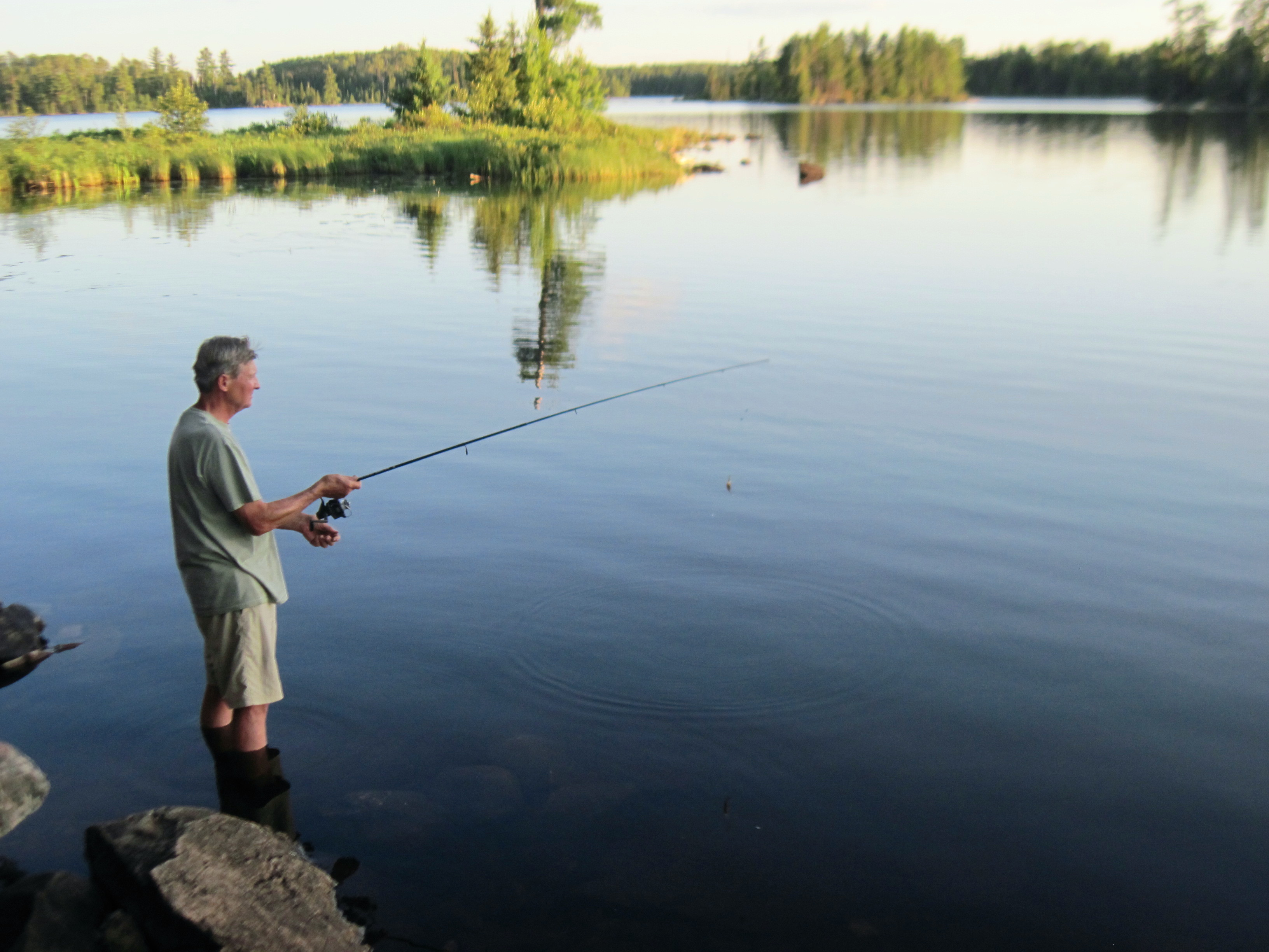 The boundary waters of minnesota and canada we blog the for Trout fishing mn