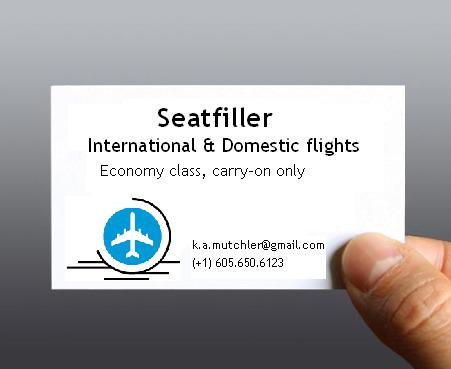 Seatfiller business card