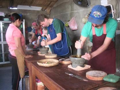 Cooking class, Battambang- Cambodia