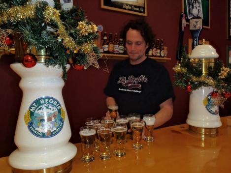 Mnt. Begbie Brewery, Revelstoke, British Columbia