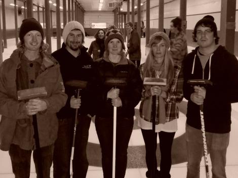Curling: Revelstoke, Canda