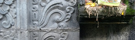 Canang sari, Sanur, Bali, Indoensia