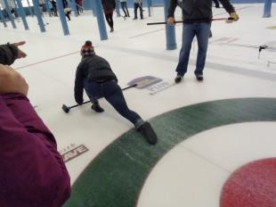 Curling, Revelstoke, Canada