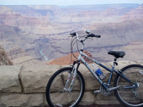 Biking Grand Canyon, Arizona