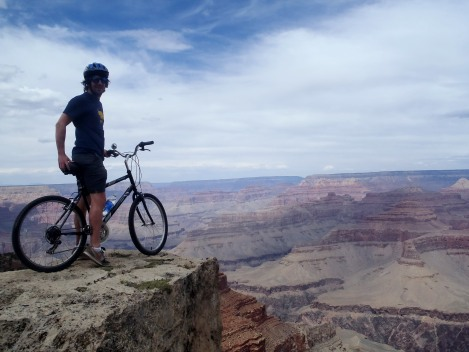 Biking Grand Canyon, Arizona