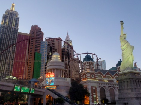 New York, New York- Las Vegas, Nevada