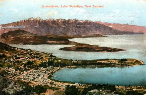 Postcard Queenstown, New Zealand