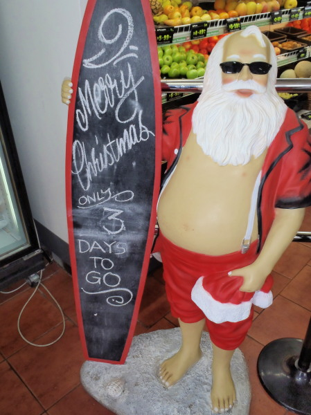 Australian Santa Claus