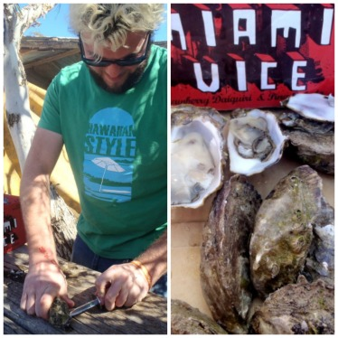 Australian cuisine, Pacific oysters