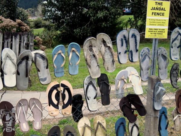 jandal fence New Zealand