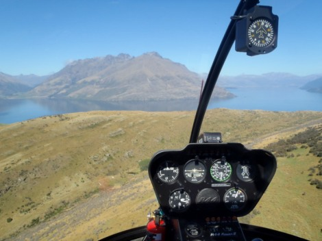 Over The Top helicopters Lake Wakatipu