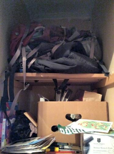 unpacking traveler's home