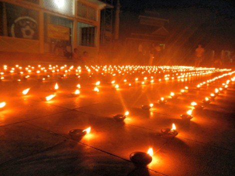 Full Moon Festival in Bago Myanmar