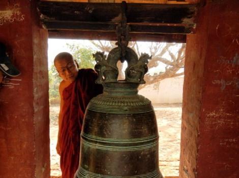 monk in Shwebo Myanmar
