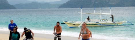 travel theme camaraderie El Nido Philippines