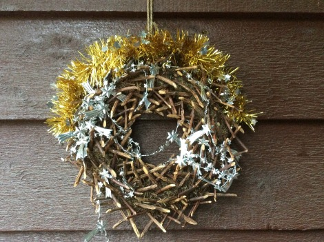 New Zealand Christmas wreath