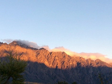 Remarkables range, Queenstown New Zealand