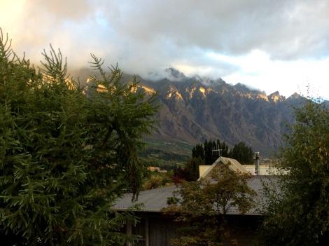Remarkables mountain range