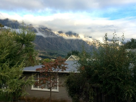 The Remarkables range, staying in one place