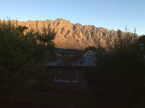 Remarkables range in May