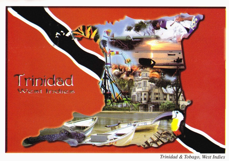 postcard Trinidad and Tobago