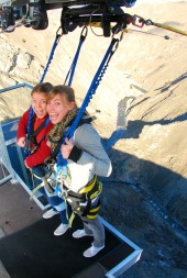 adventure travel bungy jumping New Zealand