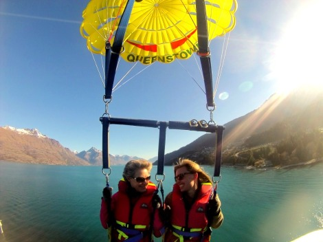 adventure travel parasailing Queenstown