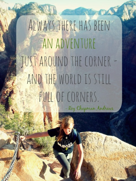 travel quote Andrews what is adventure