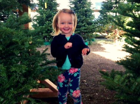 celebrating Christmas with kids tree