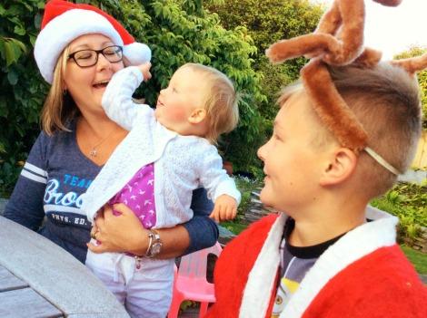 celebrating Christmas with kids