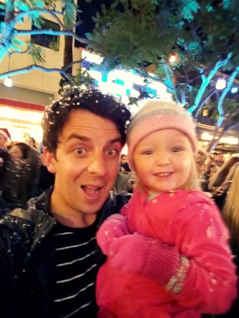 celebrating holidays with kids selfie
