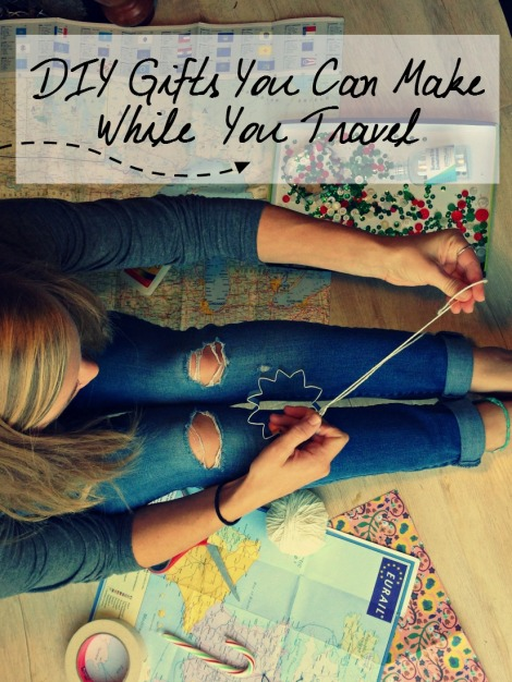 DIY gifts you can make while you travel