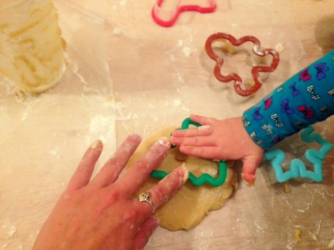 getting Christmasy with kids