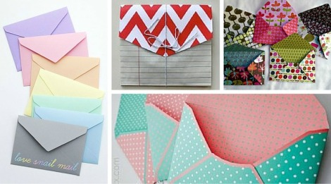 The Crafty Blog Stalker paper envelopes