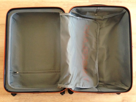 suitcase travel minimalism