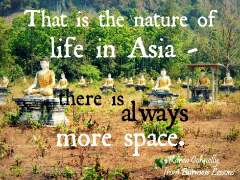 travel quote Asia Karen Connelly