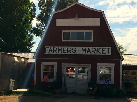 Midwest road trip farmer's market