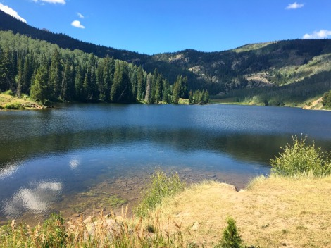 Cataract Lake, escape to Summit County, Colorado