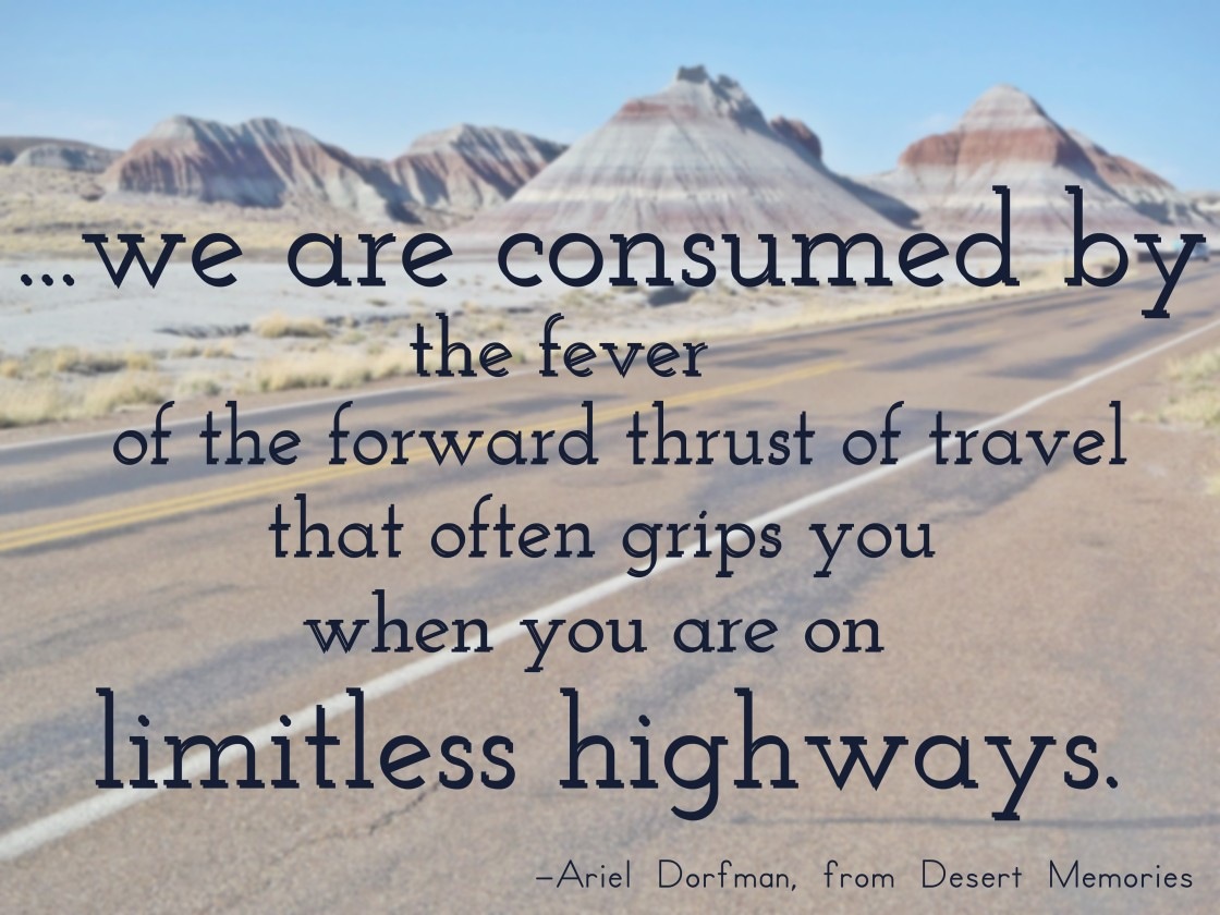 travel quote Ariel Dorfman