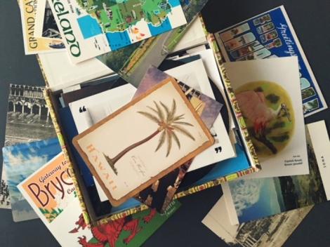 travel letter, travel postcard