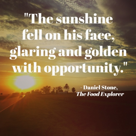 travel qoute Daniel Stone, The Food Explorer